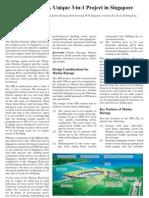 Marina Barrage Unique 3 in 1 Project