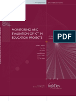 Monitoring and Evaluation of Ict in Education Proyects
