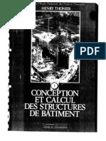Conception et Calcul des Structures de Bâtiment, Tome 1. ENPC Thonier