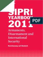 Kurzzusammenfassung des 2011 SIPRI Jahrbuches auf deutsch