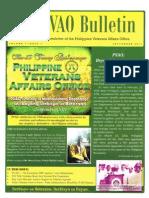 Newsletter - PVAO - September 2011 Issue