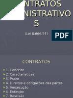 Contratos Adm. - 6º Sem. 2007