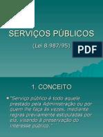 Professor A Márcia - Serviços públicos 6º Sem