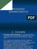 Professor A Márcia - Processo Administrativo - 6º. Sem. - 2007