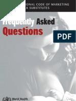 FAQ on BM substitutes Code