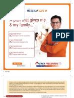 1414 ICICI Hospital Care II Brochure 170510