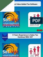 SaTVAT Gujarat VAT Software