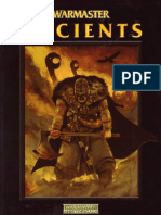 Warmaster Ancients - Warhammer Historical