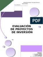 Evaluación de Proyectos Finish