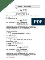 limites y derivadas