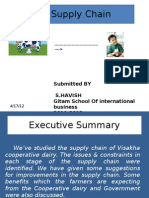 Milk Supply Chain of Visakha Dairy