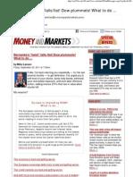 El Panorama Reciente de La Crisis y El FED