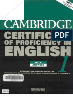 15883130 Cambridge CPE Certificate of Proficiency in English 1