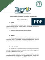 EDITAL OFICIAL TIFFU 2011 -  ACADÊMICA ATLÉTICA DA COMUNICAÇÃO SOCIAL