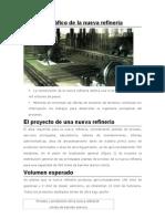 Proyecto gráfico de la nueva refinería
