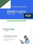 2011 Google IPSOS Report The Mobile Movement