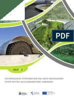Technologies d'epuration des eaux residuaires pour petites agglomerations urbaines