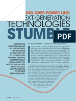 26019-Networking Over Power Line Will Next Generation Technologies Stumble or Shine PDF