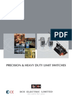 BCH Electric Ltd-Limit Switch-Catalogue