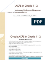17 Oracle Acfs in Oracle 112