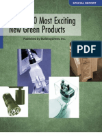 Most Exciting New Green Products