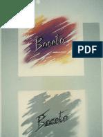 boceto es un logotipo para una revista de arte