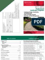 Landscape Management Courses at Rutgers – 2011-2012