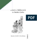 Infancia y Adolescencia en América Ltina - Aportes desde la Sociología