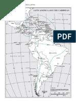 Mapa Regiones Naturales de AmÉrica Latina