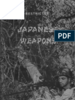 Japanese Weapons used in the South Pacific Area - December 1943