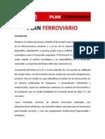 Plan Ferroviario - Ricardo Alfonsín 2011