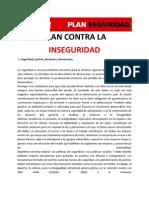 Plan contra la inseguridad - Ricardo Alfonsin 2011