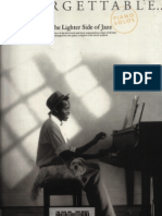 (Sheet Music - Piano) Unforgettable the Lighter Side of Jazz[1]_copy
