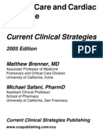 Current Clinical Strategies, Critical Care and Cardiac Medicine (2005); BM OCR 7.0-2