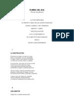 FLORES DEL MAL - Charles Baudelaire