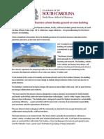 Darla Moore School of Business groundbreaking facts