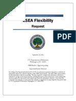 Esea Flexibility Request