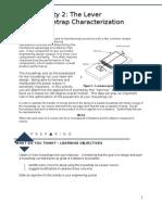 Activity 2 Mousetrap Characterization
