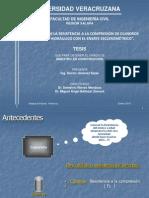 correlacion esclerometro