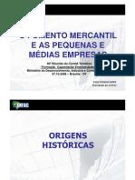 Fomento Mercantil e as PME's
