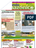 Periódico Mundo Amazónico Edición No. 54Oct-Nov / 2010