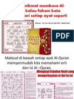 Al-Quran Terjemahan Per Kata Dalam Bahasa Melayu Serta Asbabun Nuzul