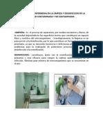 Protoloco de Enfermeria en La Limpeza y Desinfeccion de La Unidad ada y No ada