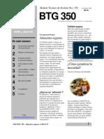 P&P BTG 350 R.2 - Alimentos Seguros BPM y HACCP