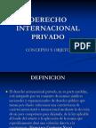 Derecho Internacional Privado Concepto y Objeto