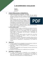 Plan Anual de Supervision y Evlauacion