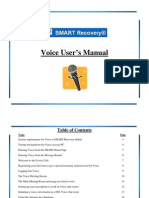 SMART eVoice Voice Users Manual