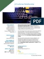 Pharmaceutical CRM Cutting Edge Information PH96 Summary