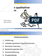 HRM - Varianten qualitativer Interviews