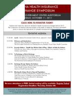 HIX Symposium Agenda